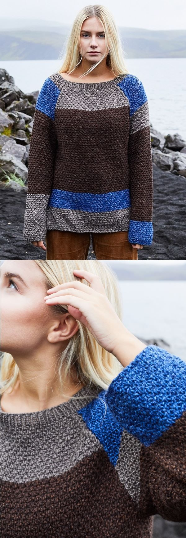 Photo of Gratis strikkeoppskrift til en Gerda-genser