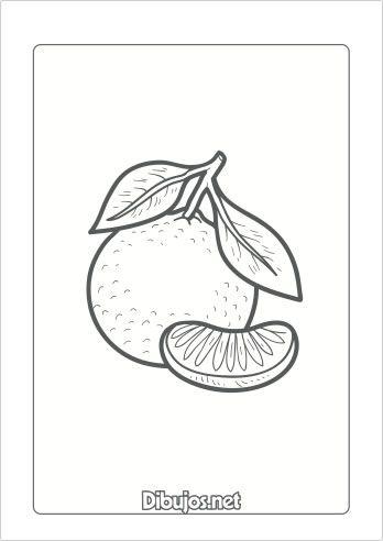 10 Dibujos de frutas para imprimir y colorear  Dibujosnet