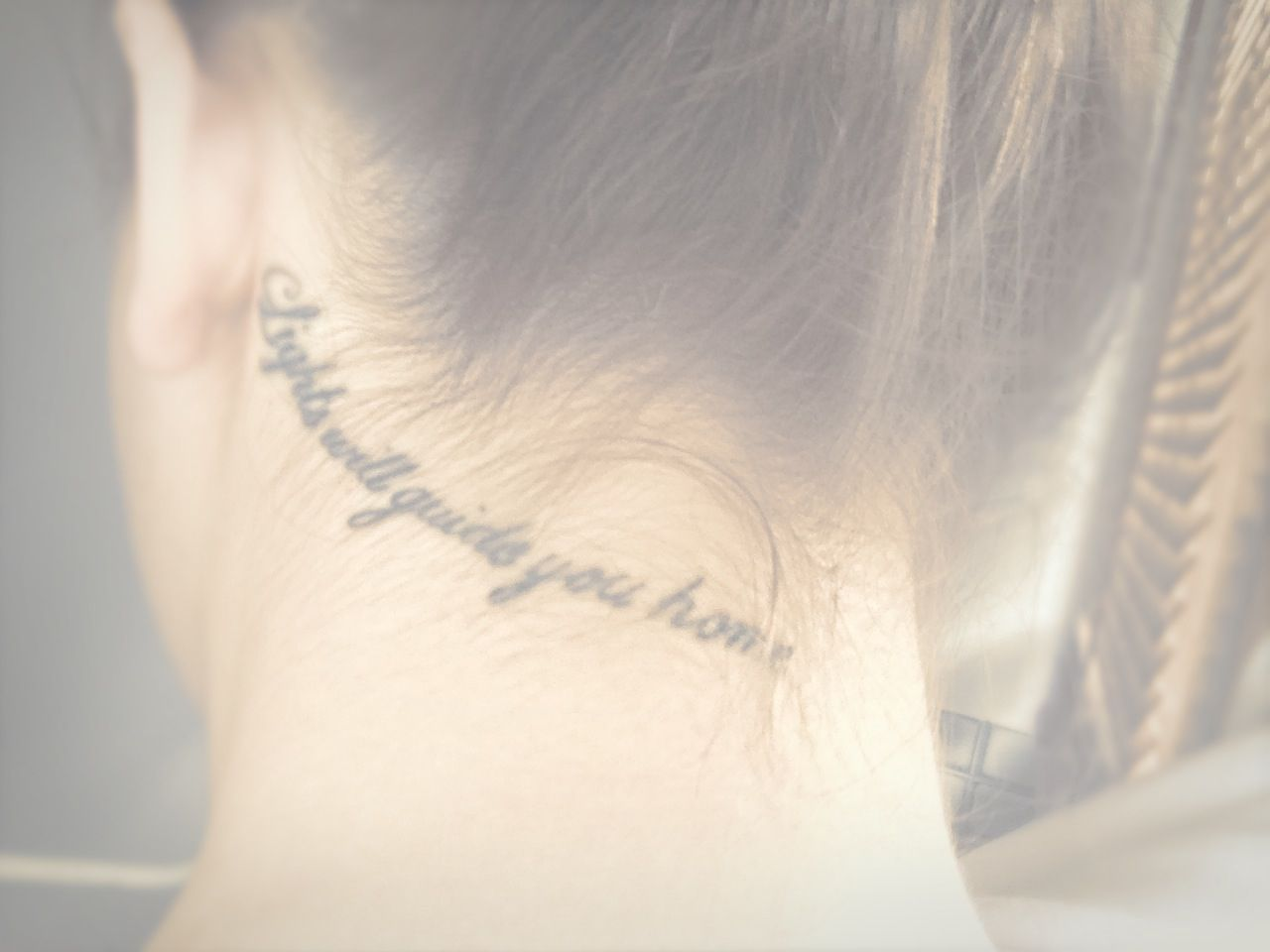 Lights will guide you home tattoo, placement! | For the Home ...