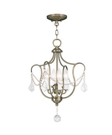 Livex Lighting 6434 Chesterfield 14 Inch Large Pendant