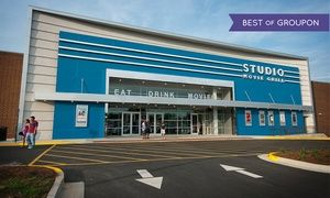Groupon - One Movie Ticket at Studio Movie Grill (Up to $ 8 Value)   in Multiple Locations. Groupon deal price: $5