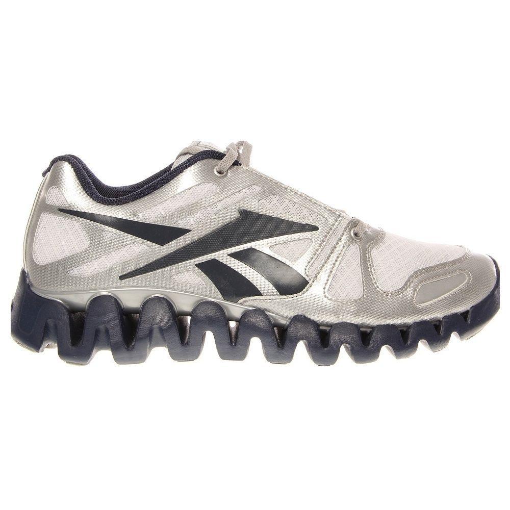 ba6d82ac NEW REEBOK ZIGTECH ZIG DYNAMIC Running MENS Navy White Silver $110 ...