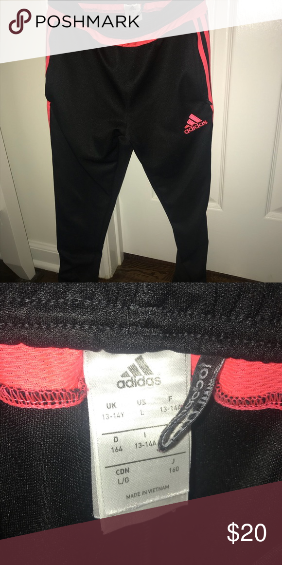 50% zniżki super tanie Nowa kolekcja Adidas tiro 15 training pant Pink stripes adidas Bottoms ...