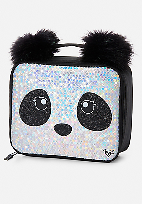 d07d23cede44 Sparkle Panda Lunch Tote. Sparkle Panda Lunch Tote Mini Backpack