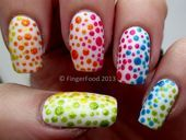 Photo of Gradient dotticure #33DC by fingerfood  Nail Art Gallery nailartgallery.na b