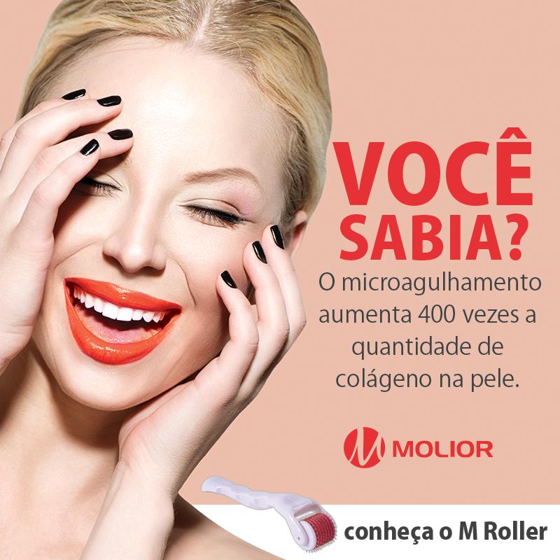Sistema de microagulhamento M Roller Gold