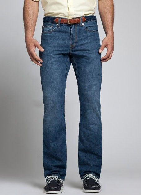 Bonobos Denim - Pacific Medium Wash $98 | Curious to try Bonobos denim and see how it fits.