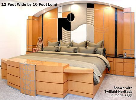 Extreme UltraKing Bed 12 Foot Wide x 10 Foot Long King size
