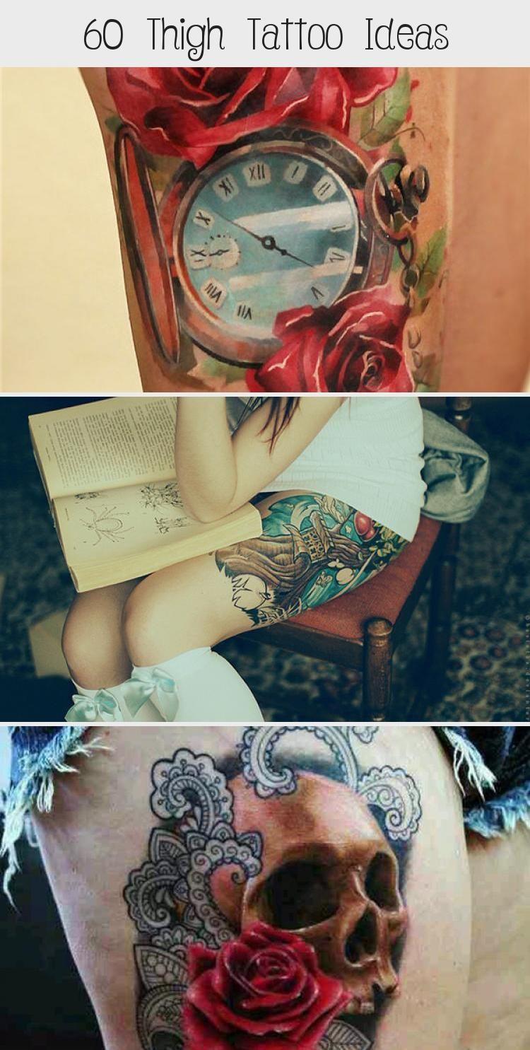 Photo of 55 Thigh Tattoo Ideas #ornamentaltattooDesign #Butterflyornamentaltattoo #orname…