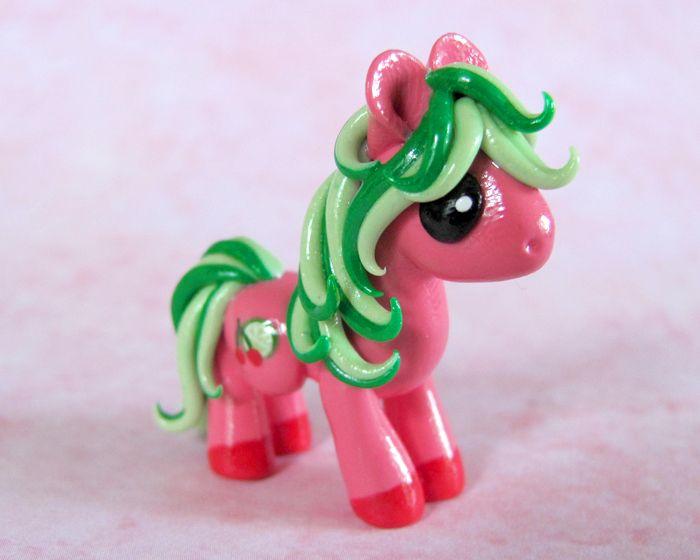 Cherry Limeade Pony by DragonsAndBeasties.deviantart.com on @deviantART