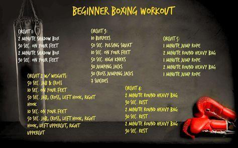 beginner boxing workout 2  boxing workout beginner