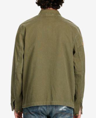 Denim & Supply Ralph Lauren Men's Cotton Herringbone Jacket - Green L