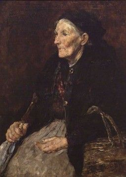 Old Market Woman William J. Forsyth (American, 1854-1935)