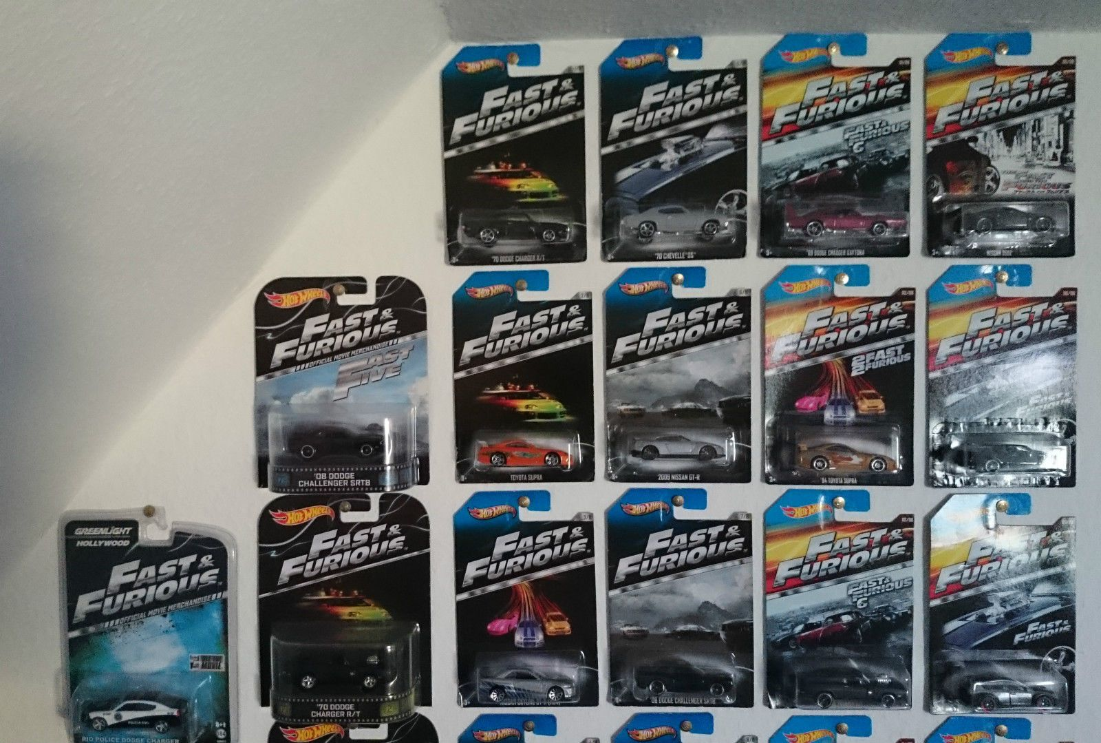 The Fast & the Furious Modellauto Sammlung die cast car set 1/18 1/32 1/24 1/64   eBay