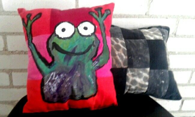 Homemade Decorative Pillows Made From Recycled Clothing Fascinating Homemade Decorative Pillows