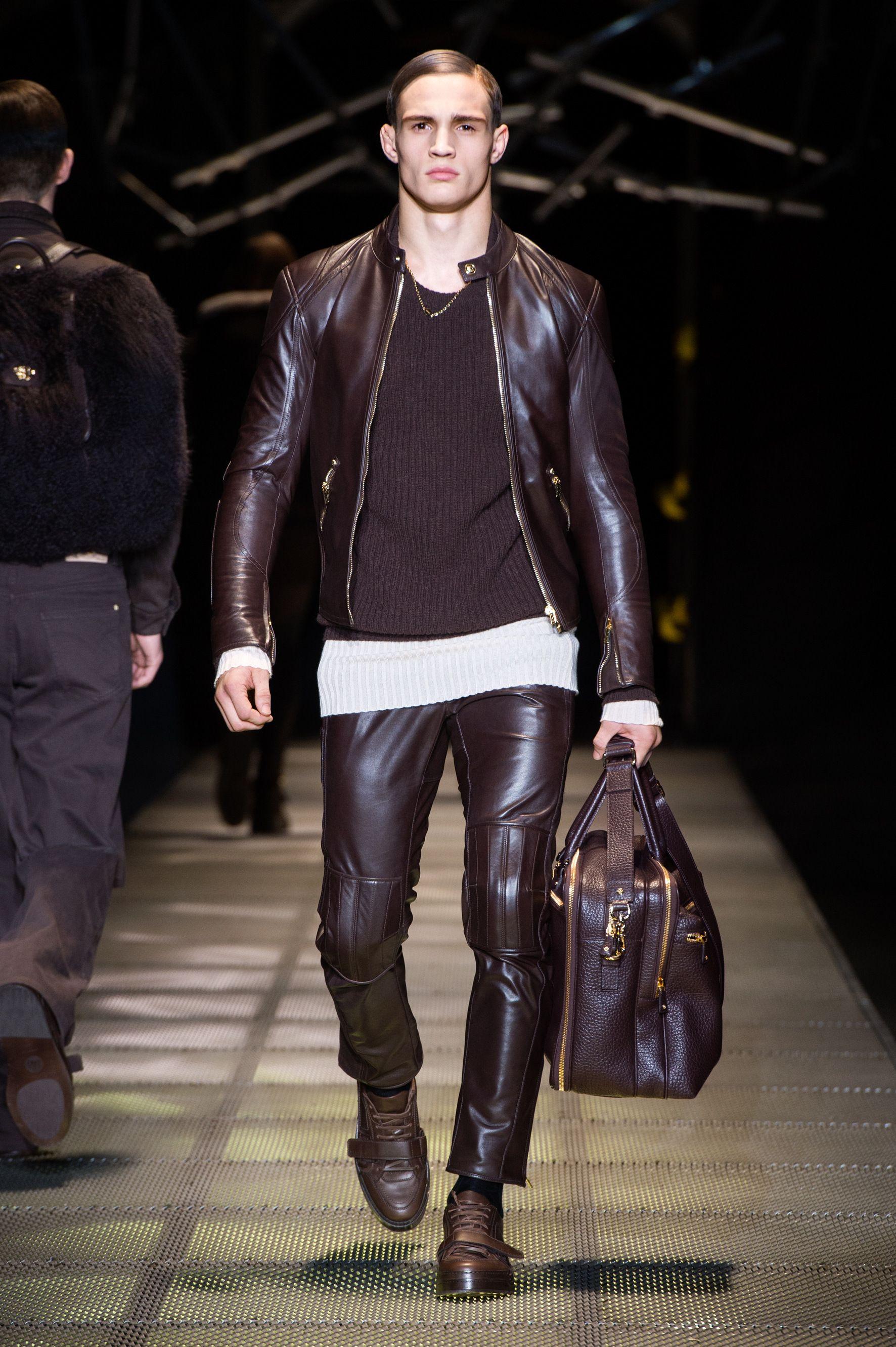 Versace Men 2015 Spring Summer: #Versace Men's Fall/Winter 2015-16 Fashion Show
