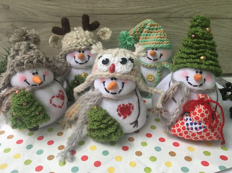 Snowman decor Christmas Snowman Decor Holiday Snowman