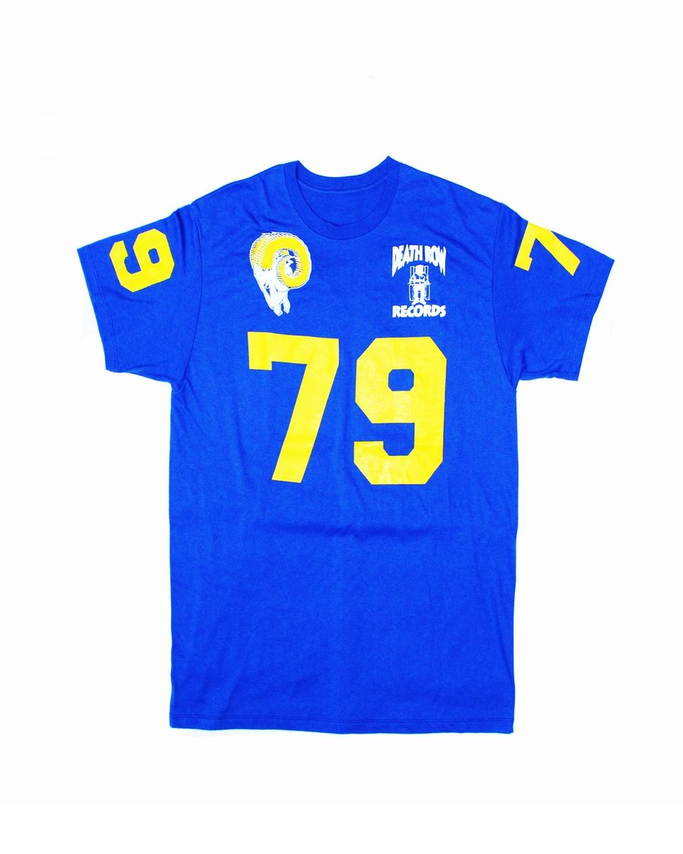 5aa931a3204 Back when Suge Knight played 2 days for the Los Angeles Rams... 100% Cotton  jersey