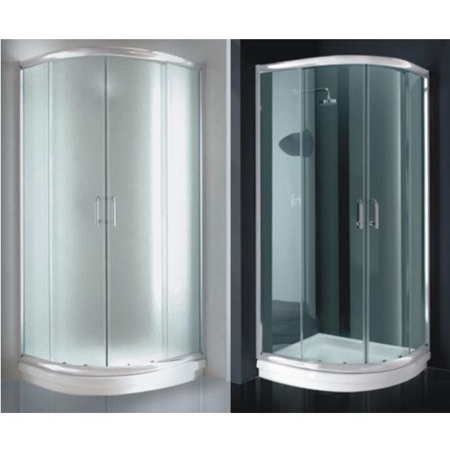 Box Doccia semicircolare vetro Trasparente o Opaco