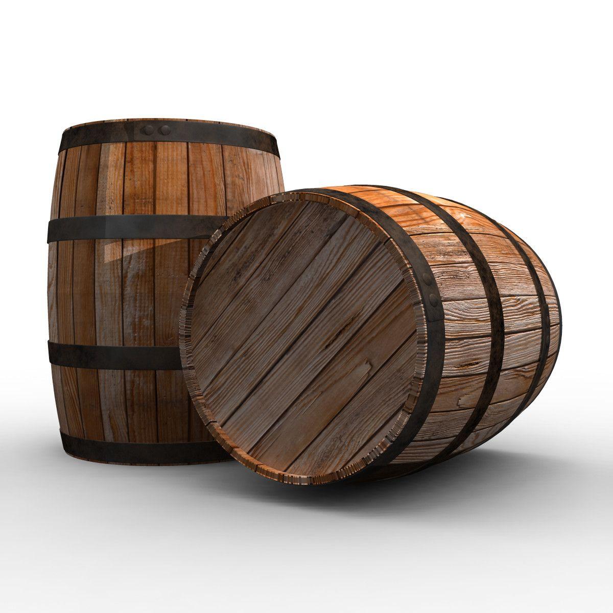 3d Wine Barrel Model Wine Barrel Barrel Beer Wood