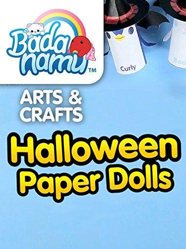 cool Badanamu Arts & Crafts EP7: Halloween Paper Dolls