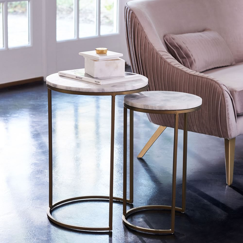 20++ West elm marble coffee table round ideas