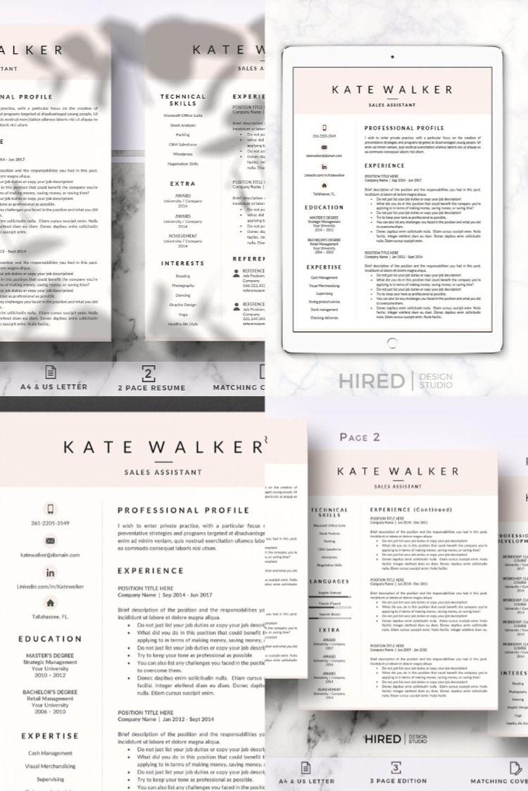 Sales Resume + Cover Letter format Cover letter format