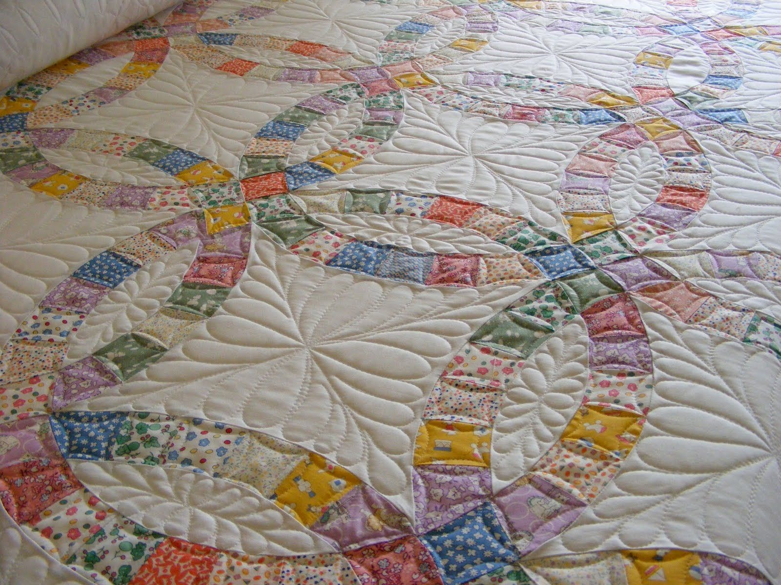 Wedding Ideas for Awesome Double Wedding Ring Quilt Crochet Pattern