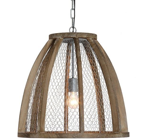 Chicken Wire Pendant Light | Chicken wire, Pendant lighting and Woods