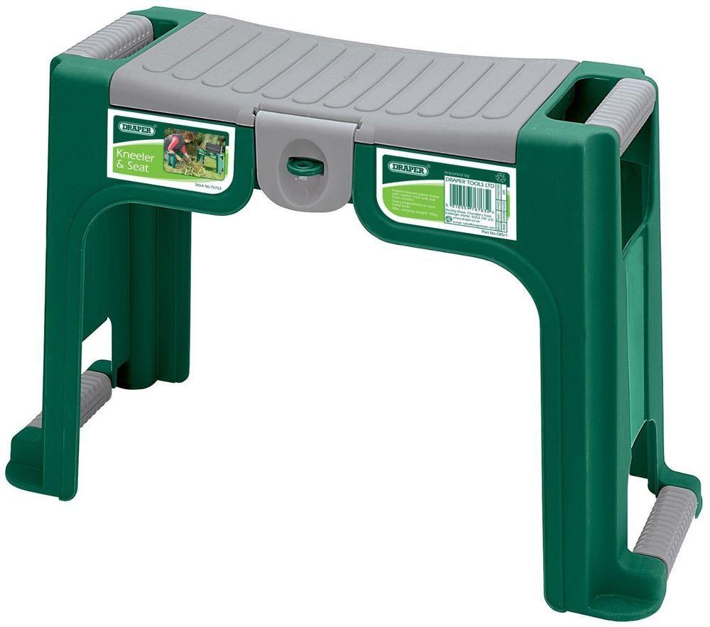 Draper Gardener S Kneeler Seat Foam Kneeler Tool Storage