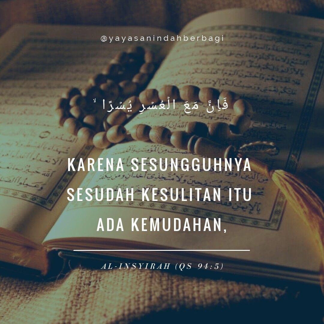 Janji Allah Sesudah Kesulitan Pasti Ada Kemudahan Kutipan Agama