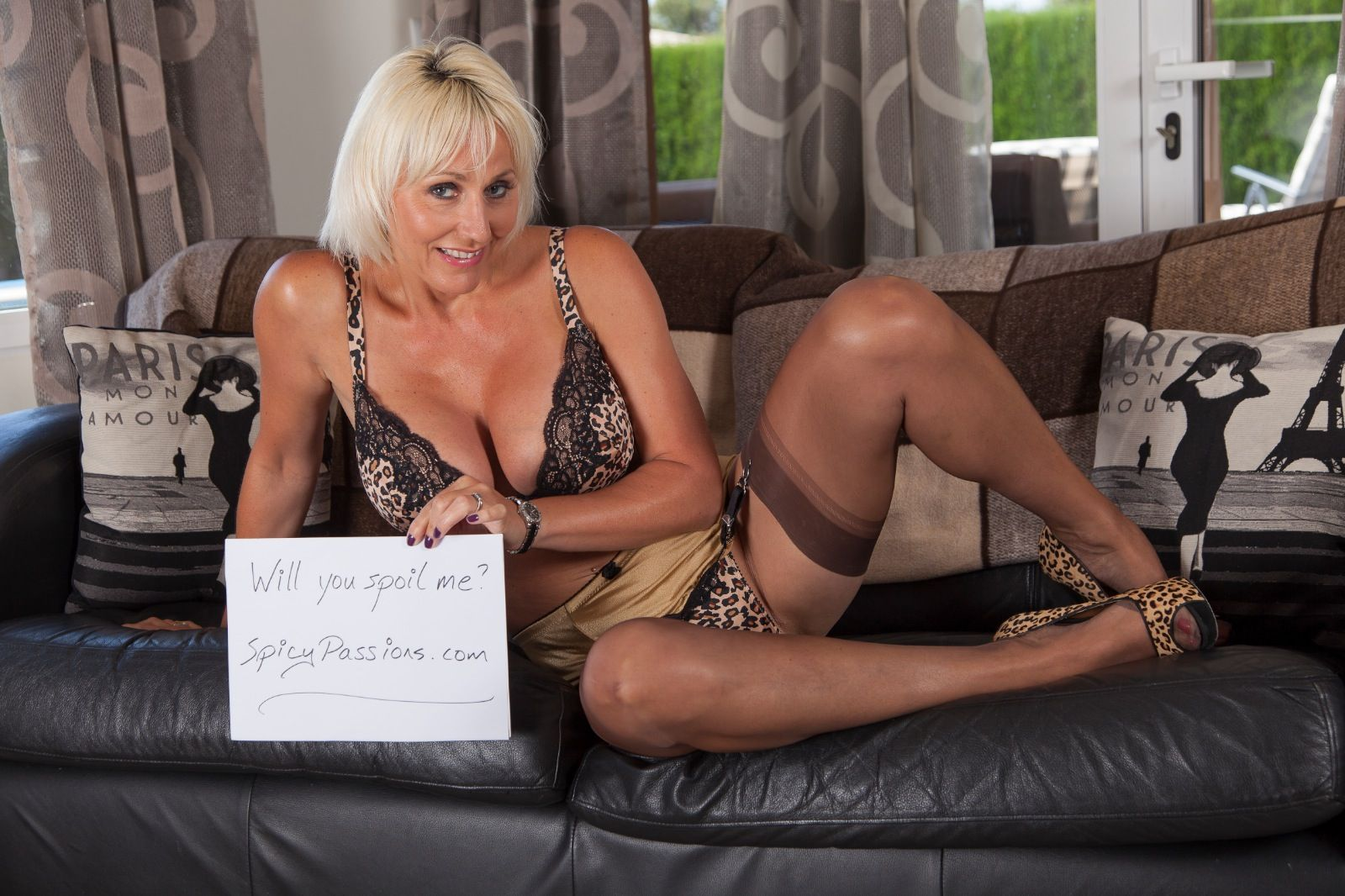#Jan_Burton #high_heels #nylons a gorgeous mature woman in ...
