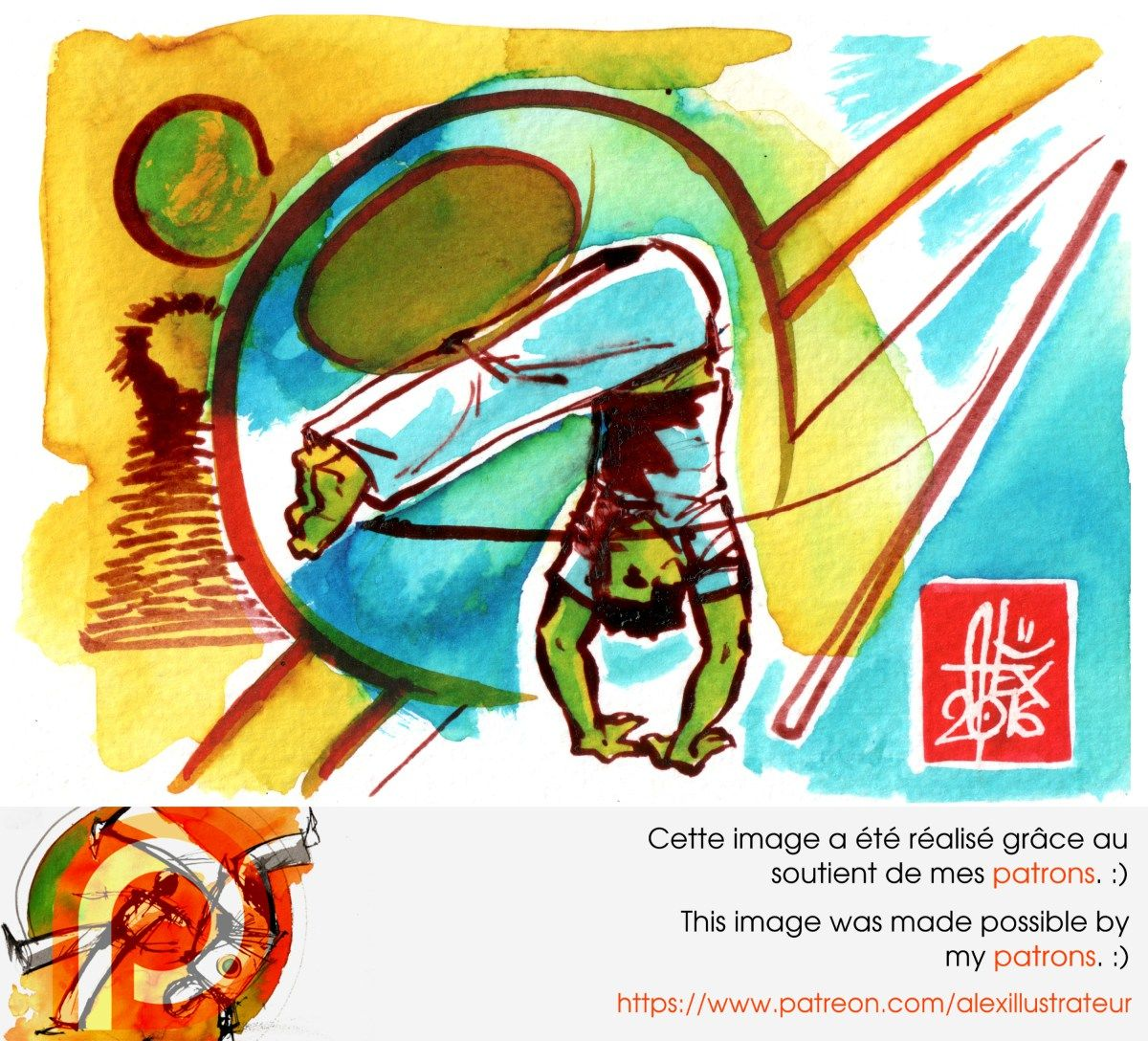 Illustration : Capoeira – 1010