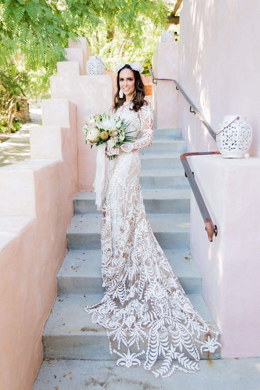 8d163913daf Loho Bride Rue de Seine boho lace Dress  laceweddingdress  bohoweddingdress