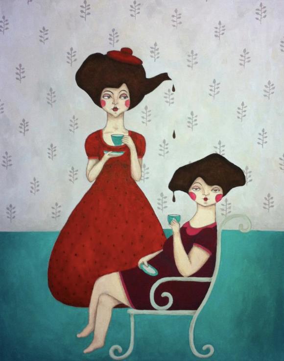 Sofia Bonati - Illustration - Teinas