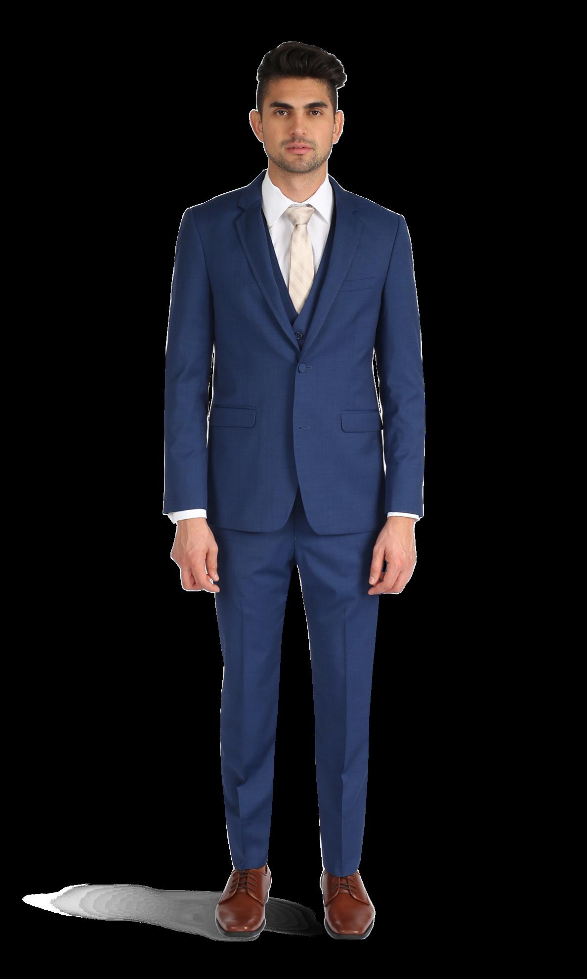 Cobalt Blue Suit by Allure Men Cobalt blue suit, Suits