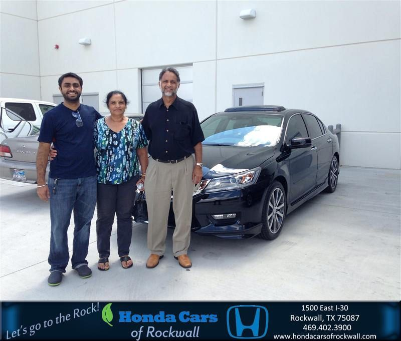 Congratulations to Jassie Singh on your #Honda #Accord Sedan purchase from Steve Lou and Laurel Brockman at Honda Cars of Rockwall! #NewCar