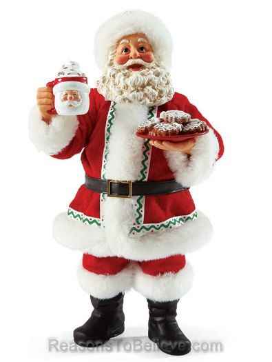 Cup of Santa What\u0027s the first thing you picture when you think of