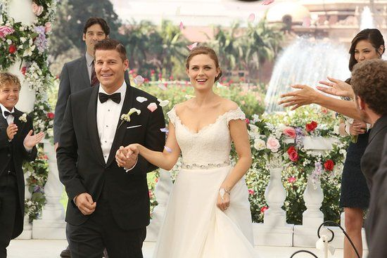 Bones Wedding: See Booth and Brennan Finally Tie the Knot!: Congratulations!