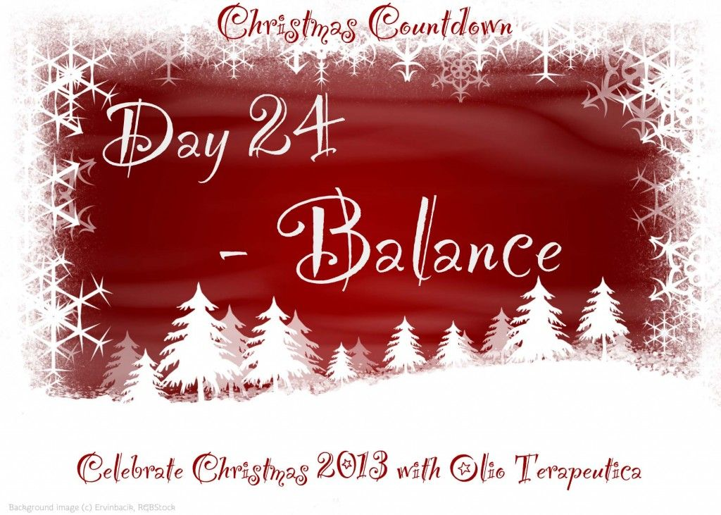 Advent 2013 - Day 24 - doTERRA Balance essential oil - at Olio Terapeutica