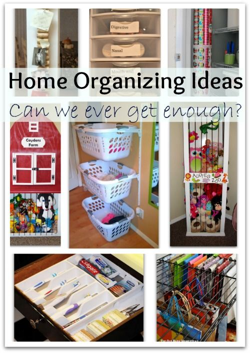 great home organizing ideas | DIY DIY DIY DIY DIY | Pinterest ...