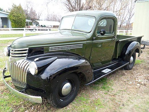 1946 Chevy Truck For Sale >> 1946 Chevrolet Pickup I Would Totally Drive This Cars And