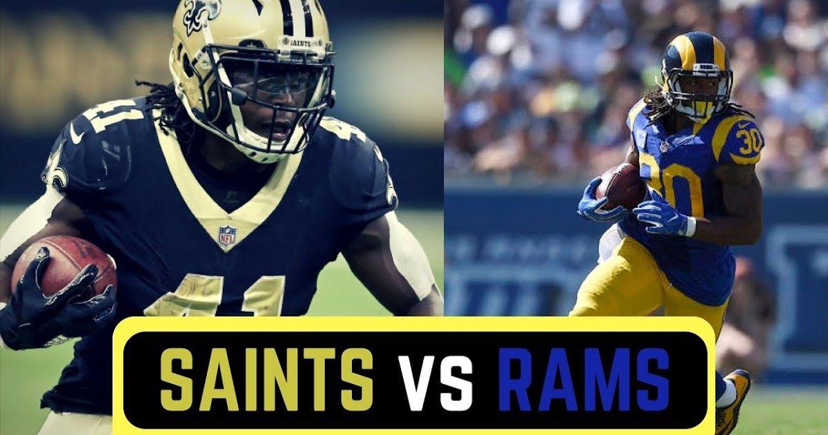 Watch NFL !! New Orleans Saints vs Los Angeles Rams VIVO