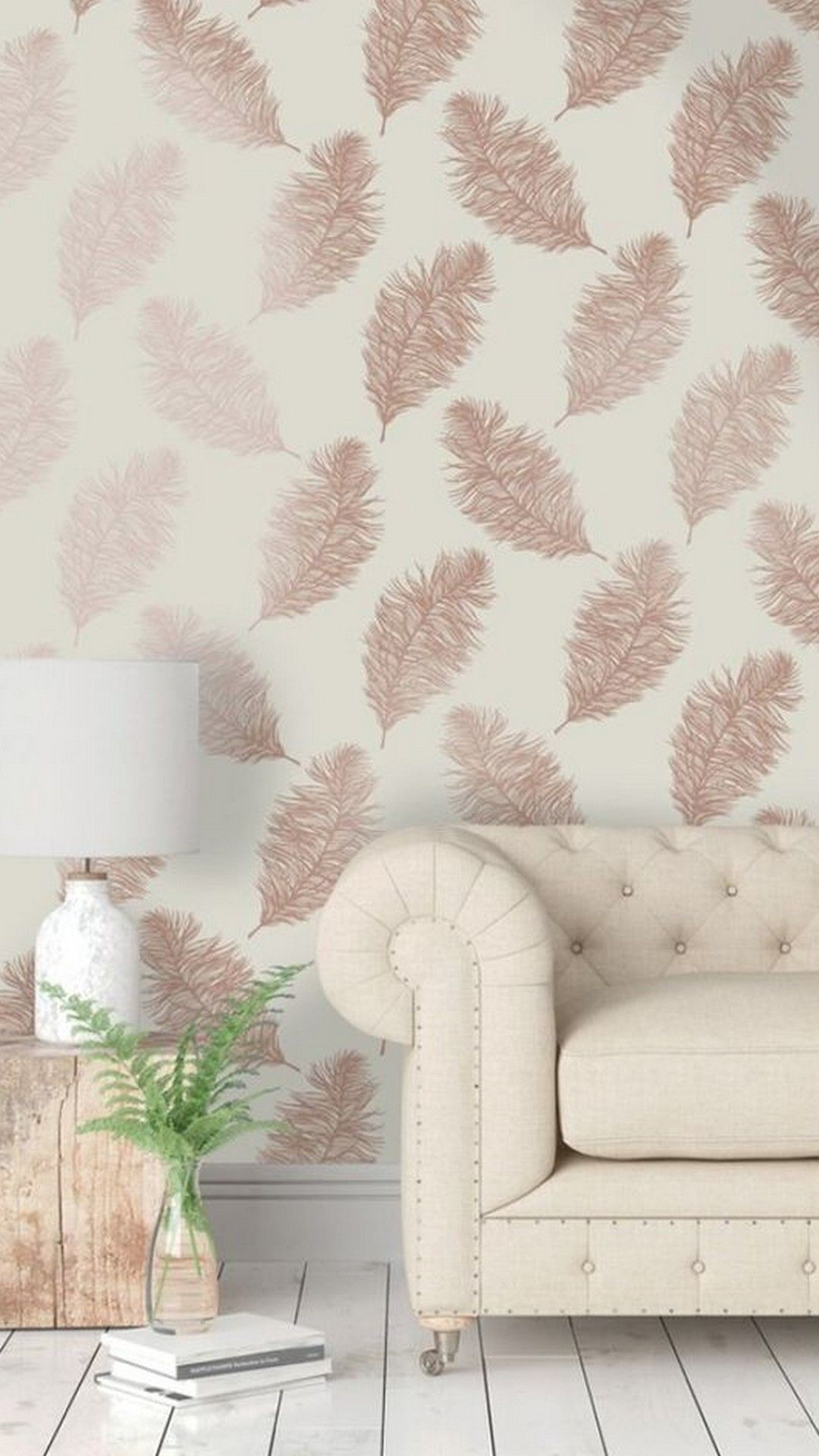 Rose Gold Themes Wallpaper For Iphone Best Iphone Wallpaper Wallpaper Living Room Pink Living Room Gold Wallpaper Bedroom