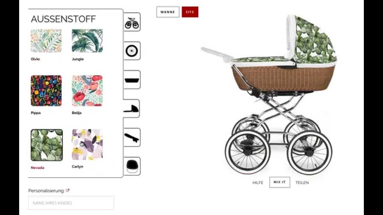 Create My AngelCab - So funktioniert der Kinderwagen Konfigurator