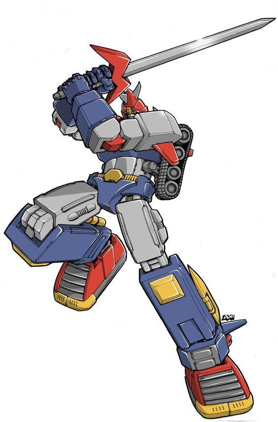 Voltes V Cartoon Characters : Voltes v donfig on deviantart todo robots pinterest