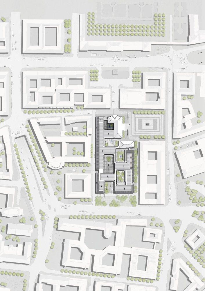 Henning Larsen Architects Wins Siemens Headquarters Competition Henning Larsen Architecture Presentation Diagram Architecture