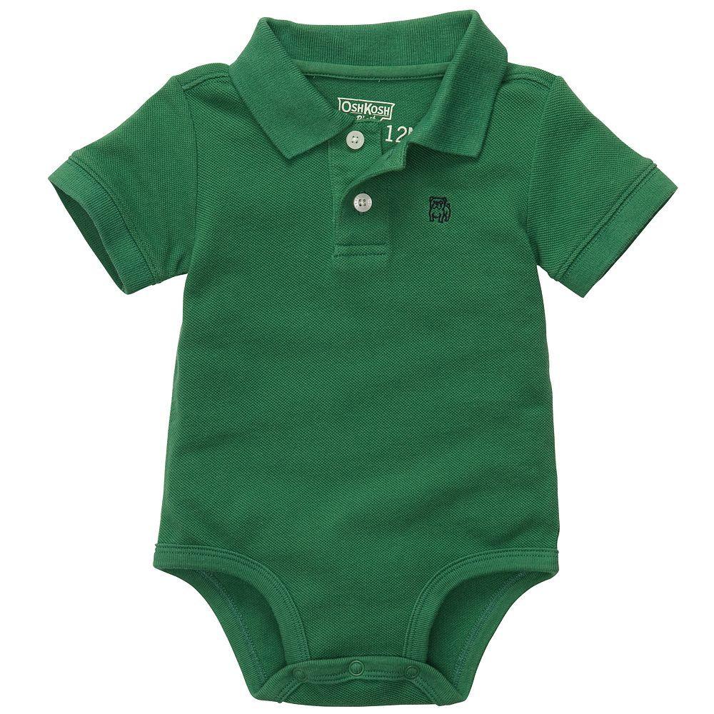 Wearing OshKosh B'gosh ensures style & fort emerald