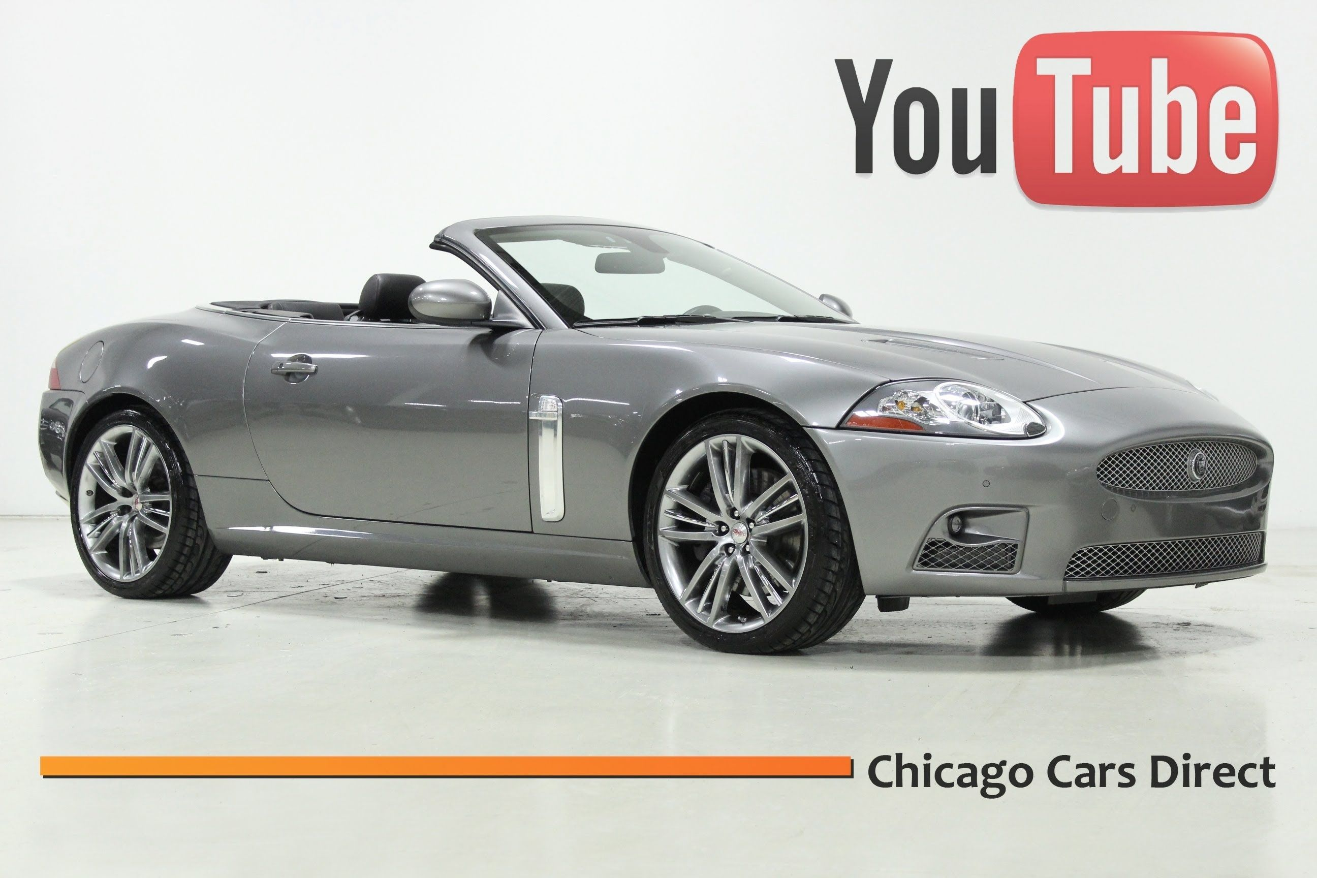 Chicago Cars Direct Presents a 2009 Jaguar XKR Portfolio Convertible