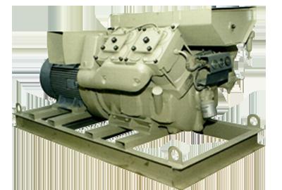 Frank compressor manufactures diesel engine driven air